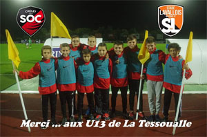 Match du SO Cholet contre Laval.