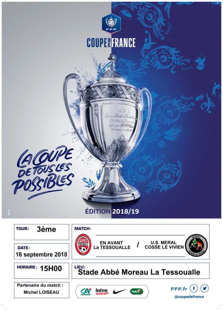 3eme Tour De La Coupe De France En Avant La Tessoualle Football