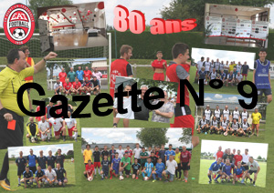 Gazette N° 9 de septembre 2018.