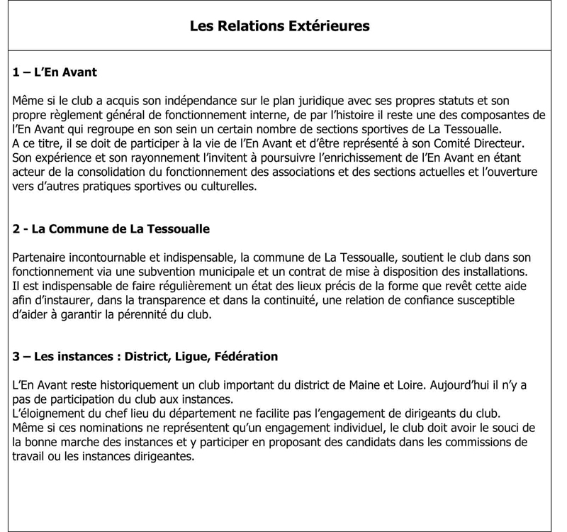 Les Relations Ext+®rieures