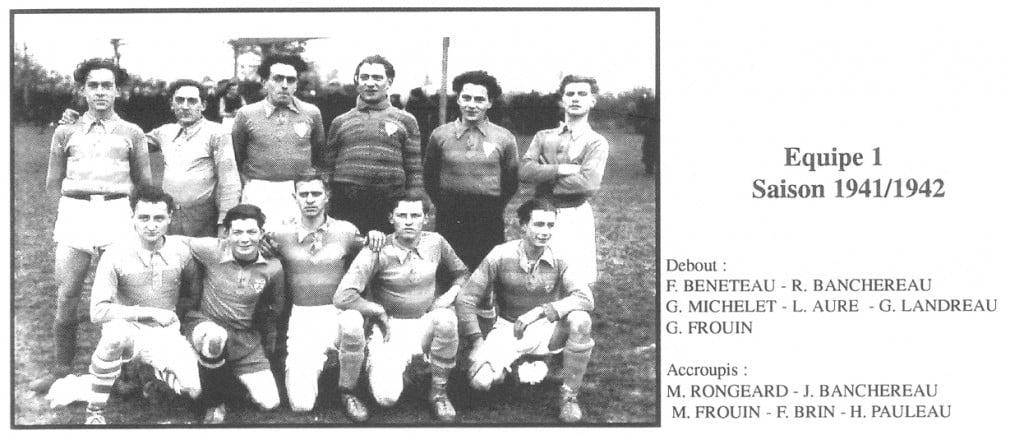 Equipe 1 saison 1941-42