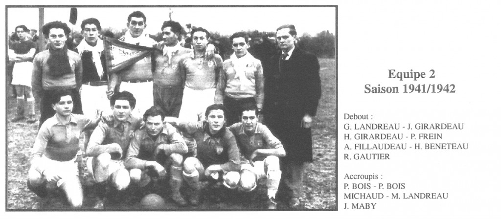 Equipe 2 saison 1941-42