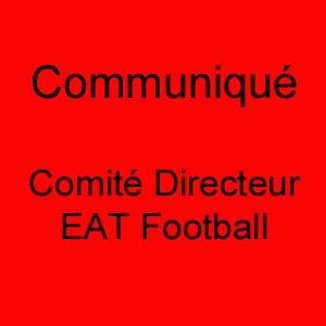 IMPORTANT : Communiqué