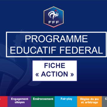 Action PEF du samedi 26 janvier avec les U13
