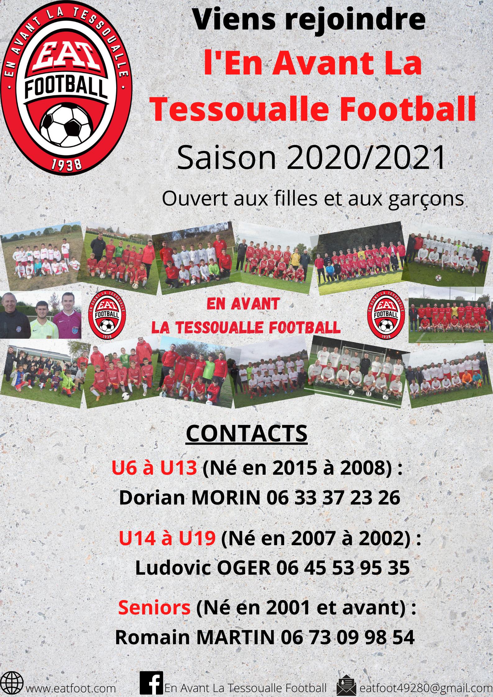 Affiche de promotion saison 2020 / 2021