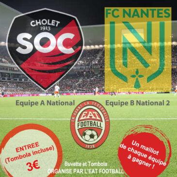 Match SOC Nantes à La Tessoualle