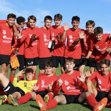 Gambardella : retour en images sur la qualification des U18